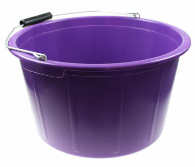 Feed Bucket 20 Litre Purple