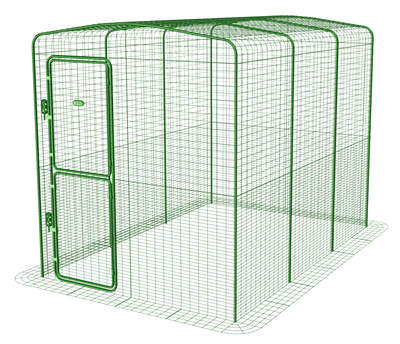Walk in Chicken Run - 6ft x 9ft x 6ft