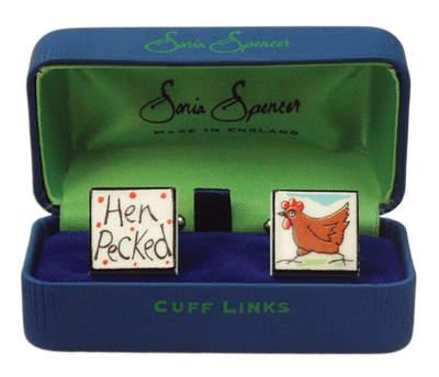 Cufflinks - Hen Pecked