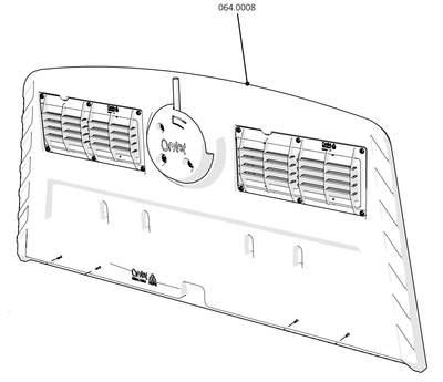 Cube Mk2 Back Door Assembly (064.0008)