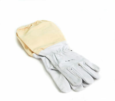 Leather Beekeeping Gloves - Medium