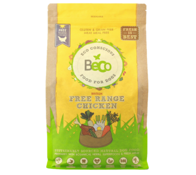 Food for Dogs 2kg - Free Range Chicken