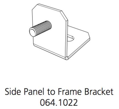 Cube Mk2 Bracket Side Panel to Frame (064.1022)