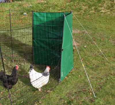 Heavy Duty Wind Break Kit for Chicken Fencing