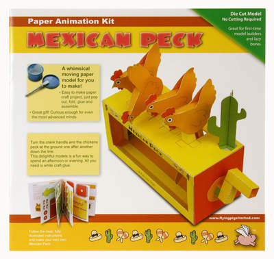 Mexican Peck Paper Animation Kit