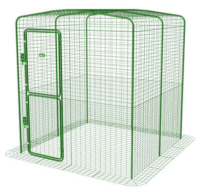 Outdoor Rabbit Run - 6ft x 6ft x 6ft