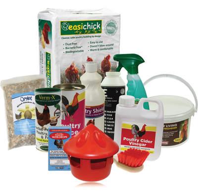 Startpakke hønsehold - den utlimate begynnerpakken