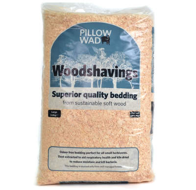 Pillow Wad Mini-Bale Wood Shavings Large 3.6kg