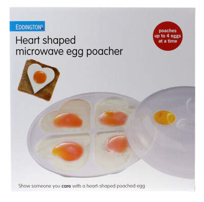 Microwave Heart Egg Poacher