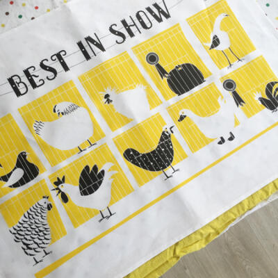 Tea Towel - Best in Show yellow