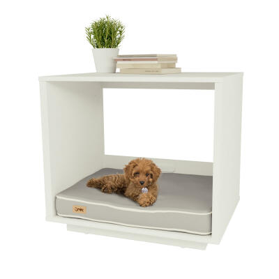 Fido Nook 24 Dog House - White