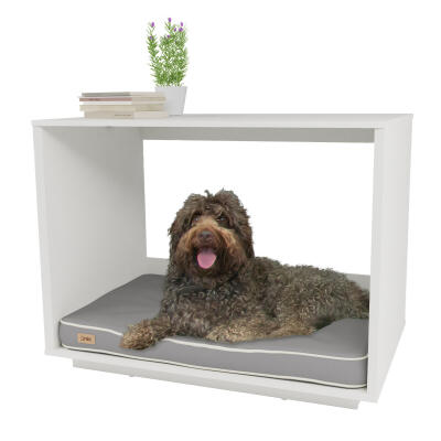 Fido Nook 36 Dog House - White