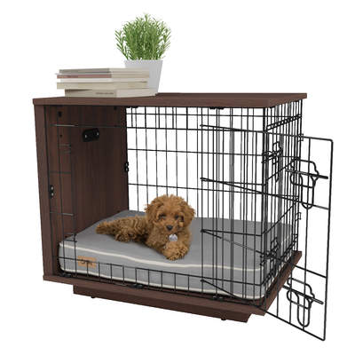 Omlet Fido Studio 24 Dog Crate Walnut