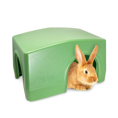 Zippi Rabbit Shelter - Green