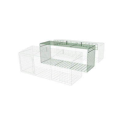 Extension for Zippi Rabbit Run with Roof and Underfloor Mesh - Single Height 3 x 2 to 3 x 3