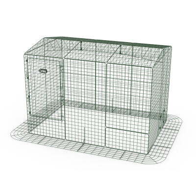 Zippi Rabbit Run with Roof and Skirt - Double Height