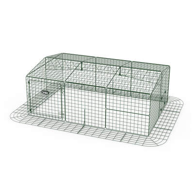 Zippi Guinea Pig Run with Roof and Skirt - Single Height