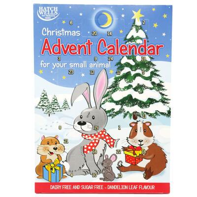 Adventskalender für Kleintiere