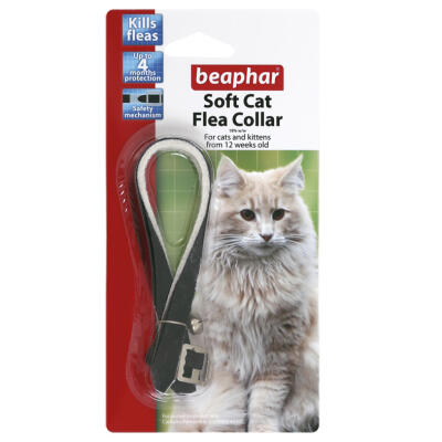 Beaphar Cat Soft Flea Collar Velour