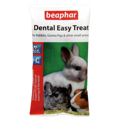 Beaphar Dental Easy Treat - Tyggebidder til små dyr - 60g