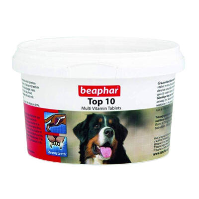Beaphar Top 10 Vitamin Tablets for Dogs