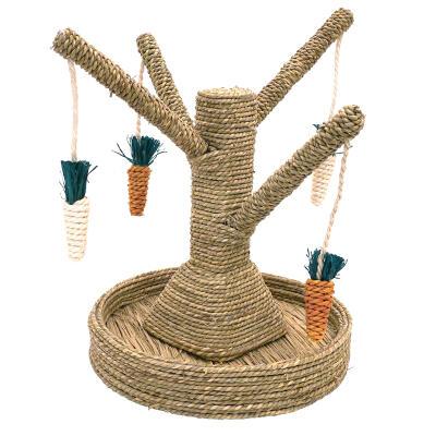 Boredom Breaker speelboom voor konijnen en cavia's