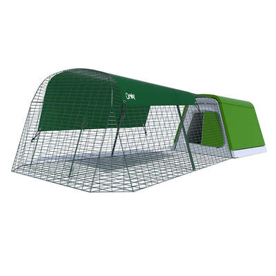 GRADE B - Eglu Go Rabbit Hutch with 2m Run Package  - Leaf Green