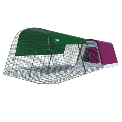 Eglu Go Rabbit Hutch with 6ft Run - Purple