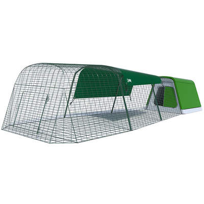 Eglu Go Rabbit Hutch with 9 ft Run Package - Leaf Green