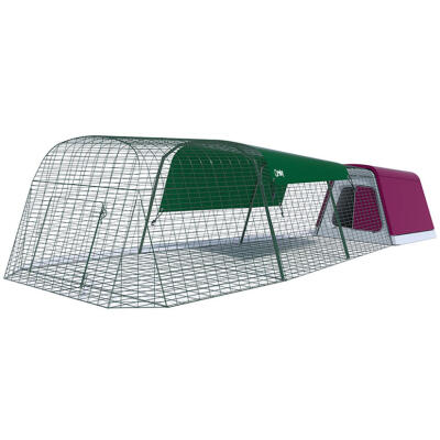 Eglu Go Rabbit Hutch with 9ft Run Package - Purple