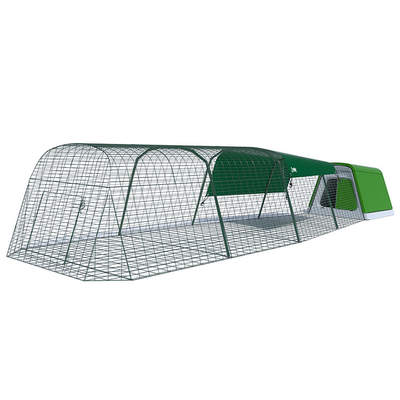 Eglu Go Rabbit Hutch with 4m Run Package - Leaf Green