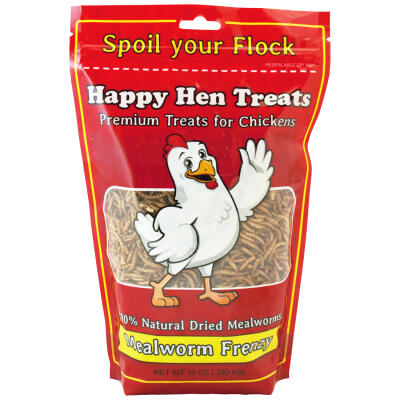 Happy Hen Treats Mealworm Frenzy 10 oz