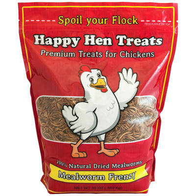 Happy Hen Treats Mealworm Frenzy 30 oz