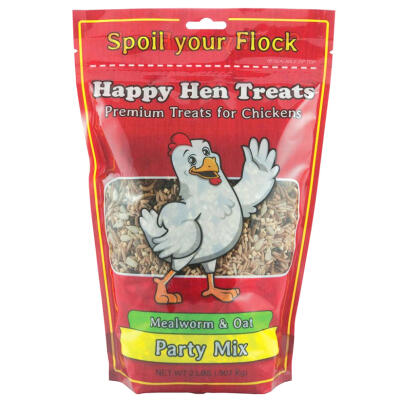 Happy Hen Treats Party Mix Mealworm & Oat 2 lbs