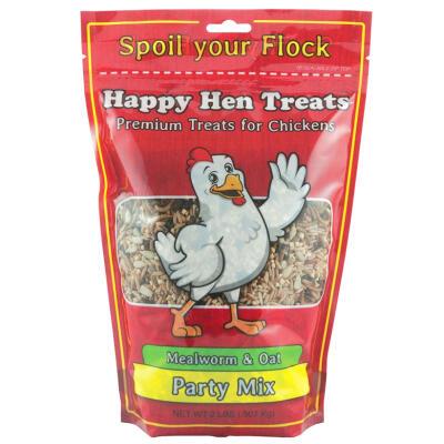 Happy Hen Treats Party Mix Mealworm & Oat 2 lbs