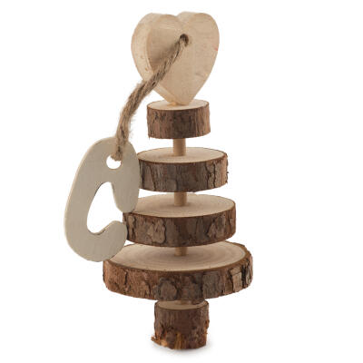Just 4 Pets Ring Tree Gnaw - 15cm
