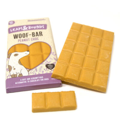 "Leaps & Bounds Woof Bar ""Nußschoki"" 100g"