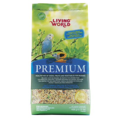 Living World Premium Budgie Seed 908g
