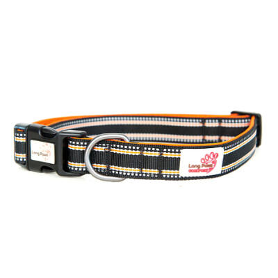 Long Paws Padded Comfort Collar Black - Extra Small