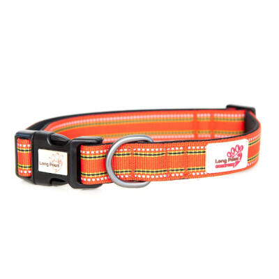 Long Paws Padded Comfort Collar Orange - Extra Small