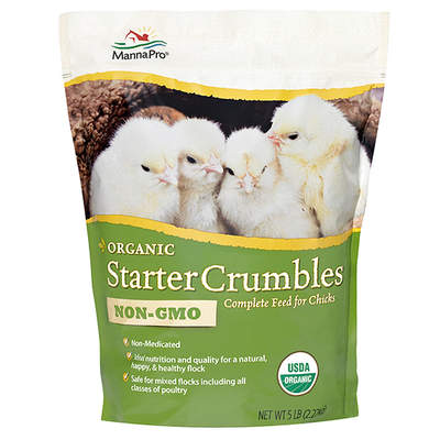 Manna Pro Organic Starter Crumbles 5lbs