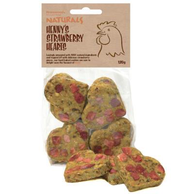 Friandises biscuit pour poule à la fraise Naturals - 120g