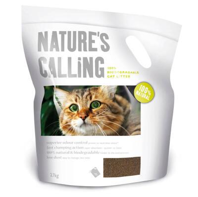 Litière pour chats Nature's Calling 2.7kg