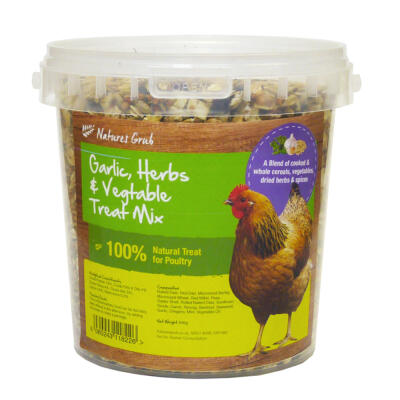 Natures Grub Garlic, Herbs & Vegetable Treat Mix - 1.2kg