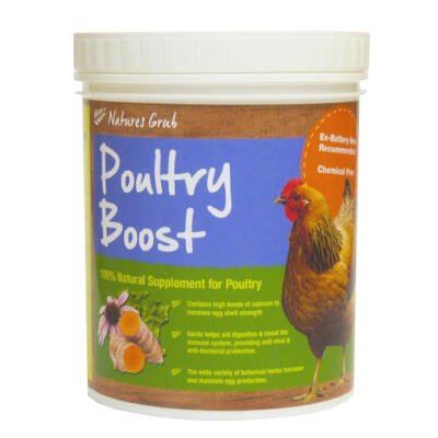 Natures Grub Poultry Boost-pellets - 300g