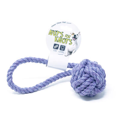 Nuts For Knots Dog Toy Tugger - Small 25cm