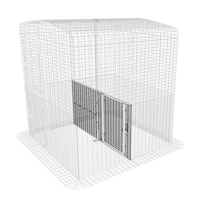 Outdoor Cat Run Partition Low - 2 Panels