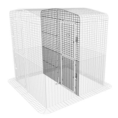 Outdoor Rabbit Run Partition High - 2 Panels
