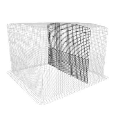 Outdoor Cat Run Partition High - 3 Panels