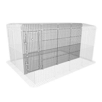 Outdoor Guinea Pig Run Partition High - 4 Panels